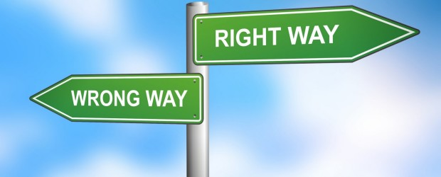"The ""Right Way"""
