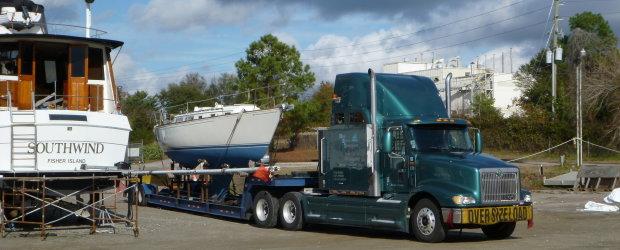 C2 The Project Boat Manual, Logistics