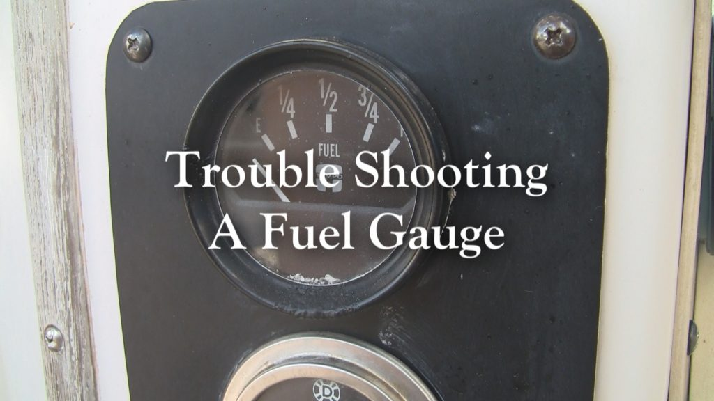 Trouble Shooting a Fuel Tank Sender